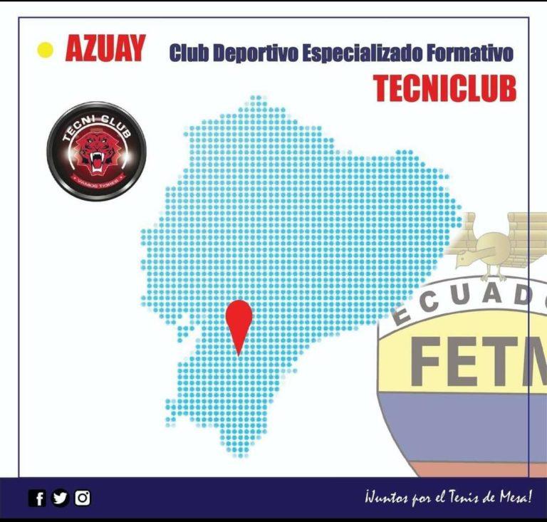 """CLUB DEPORTIVO FORMATIVO ESPECIALIZADO DE TENIS DE MESA """"TECNI CLUB"""""""