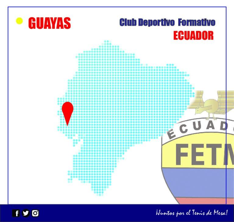 """CLUB DEPORTIVO FORMATIVO ESPECIALIZADO DE TENIS DE MESA """"ECUADOR"""""""