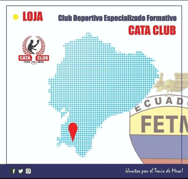 """CLUB DEPORTIVO FORMATIVO ESPECIALIZADO DE TENIS DE MESA """"CATA CLUB"""""""