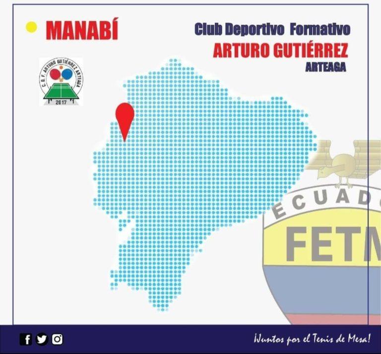 """CLUB DEPORTIVO FORMATIVO ESPECIALIZADO DE TENIS DE MESA """"ARTURO GUTIÉRREZ"""""""