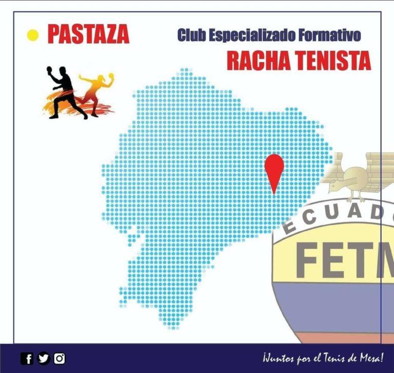 """CLUB DEPORTIVO FORMATIVO ESPECIALIZADO DE TENIS DE MESA """"RACHA TENISTA"""""""