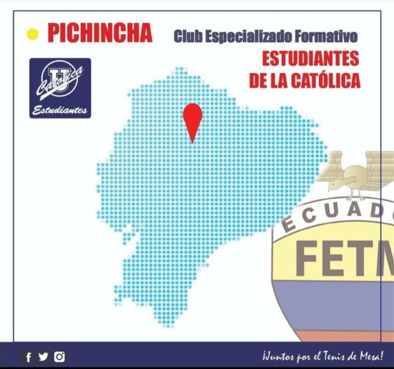 """CLUB DEPORTIVO FORMATIVO ESPECIALIZADO DE TENIS DE MESA """"ESTUDIANTES DE LA CATÓLICA"""""""