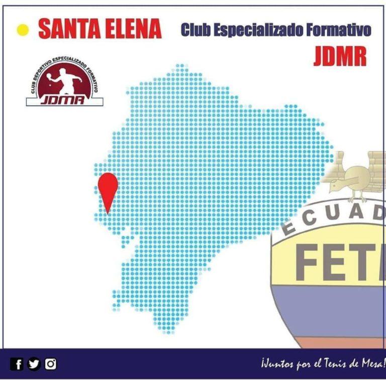 """CLUB DEPORTIVO FORMATIVO ESPECIALIZADO DE TENIS DE MESA """"JDMR"""""""